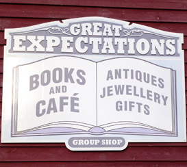 Great Expectations Books & Antiques